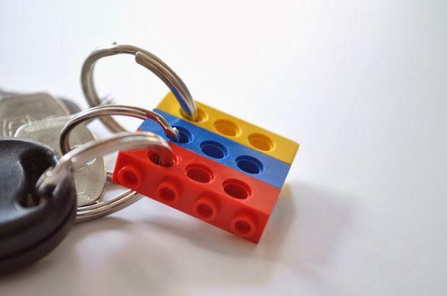 Οργανώστε τα κλειδιά σας με τα LEGO!