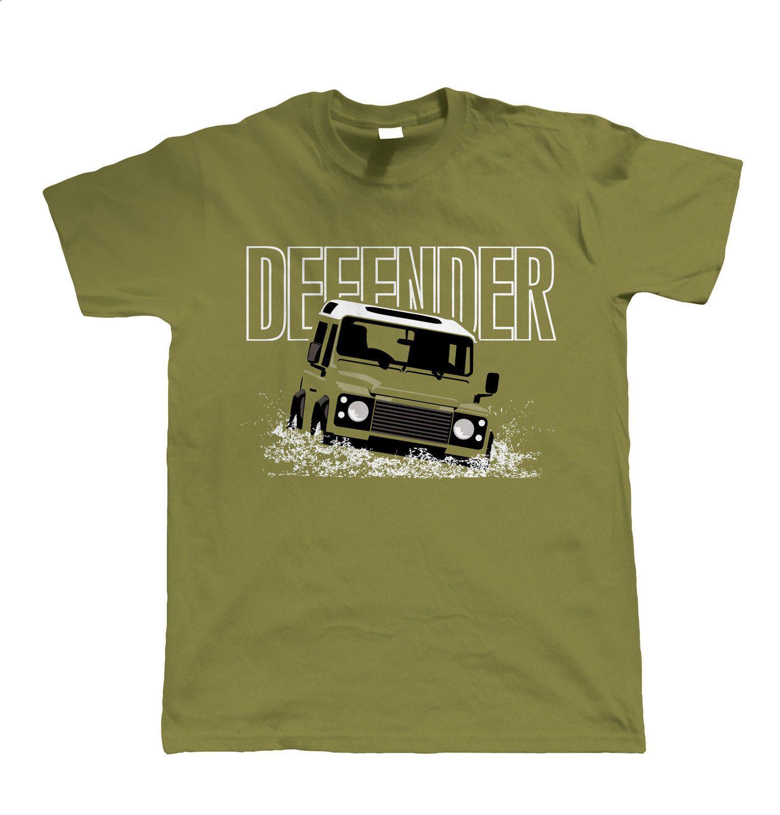 Details about Defender, Mens Off Roading T Shirt, Gift for