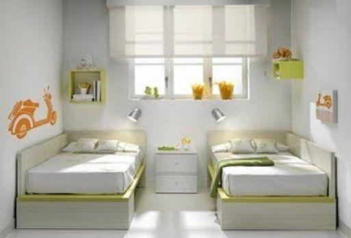 Dormitorios infantiles para dos decoraci n - Dormitorios dobles para ninos ...