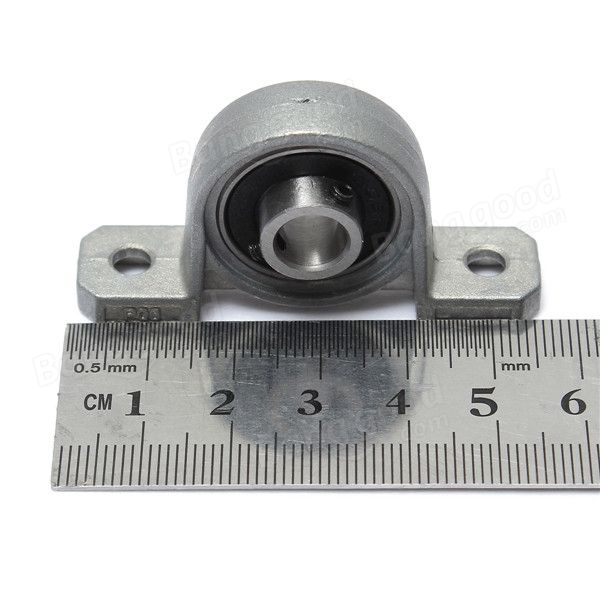 Us 2 07 38 8mm Bore Diameter Zinc Alloy Pillow Block Mounted Ball Bearing Kp08 Mechanical Parts From Tools Industrial Scientific On Banggood Com Zinc Alloy Mounting Tools