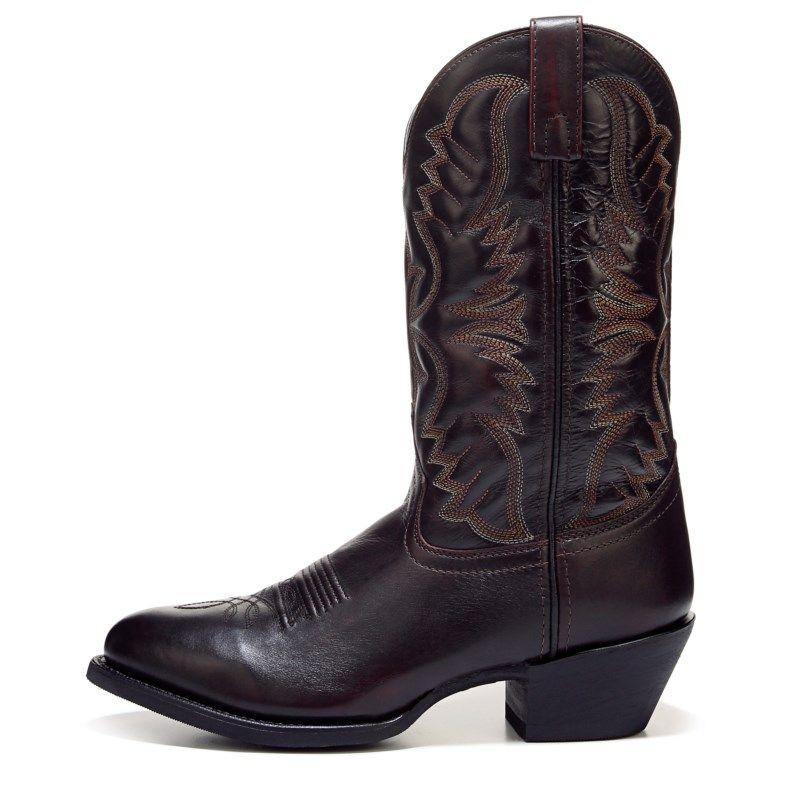 04bb2e18744 Laredo Men's Birchwood Medium/Wide Cowboy Boots (Black Cherry ...