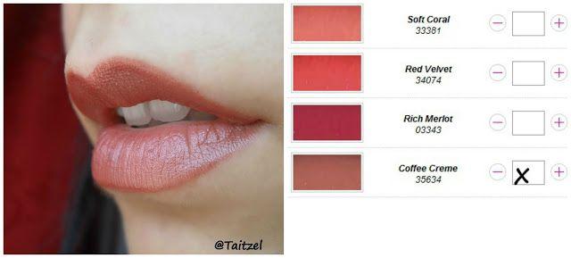 Avon Cofee Creme Lipstick Ruj Make Up Avon Lipstick Avon Lipstick