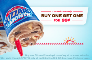 bogo coupon dairy queen