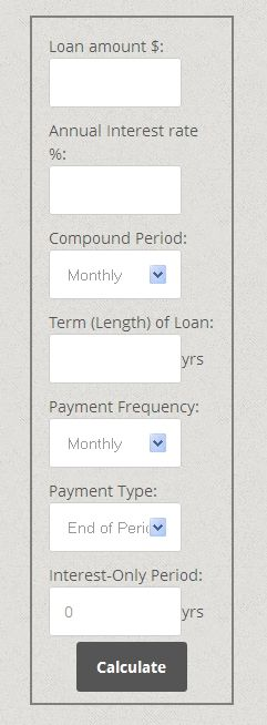 How to add a monthly mortgage and loan interest calculator in - loan interest calculator