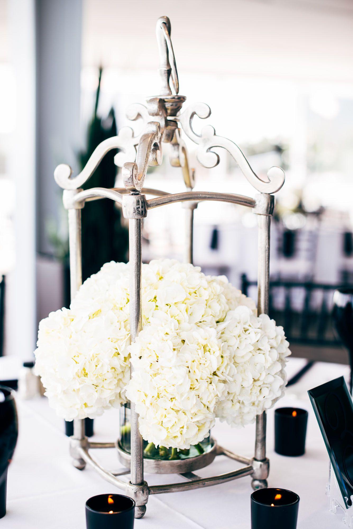 Wedding event background  Unique lantern centerpieces  Waterview Loft at Port Detroit  Photo
