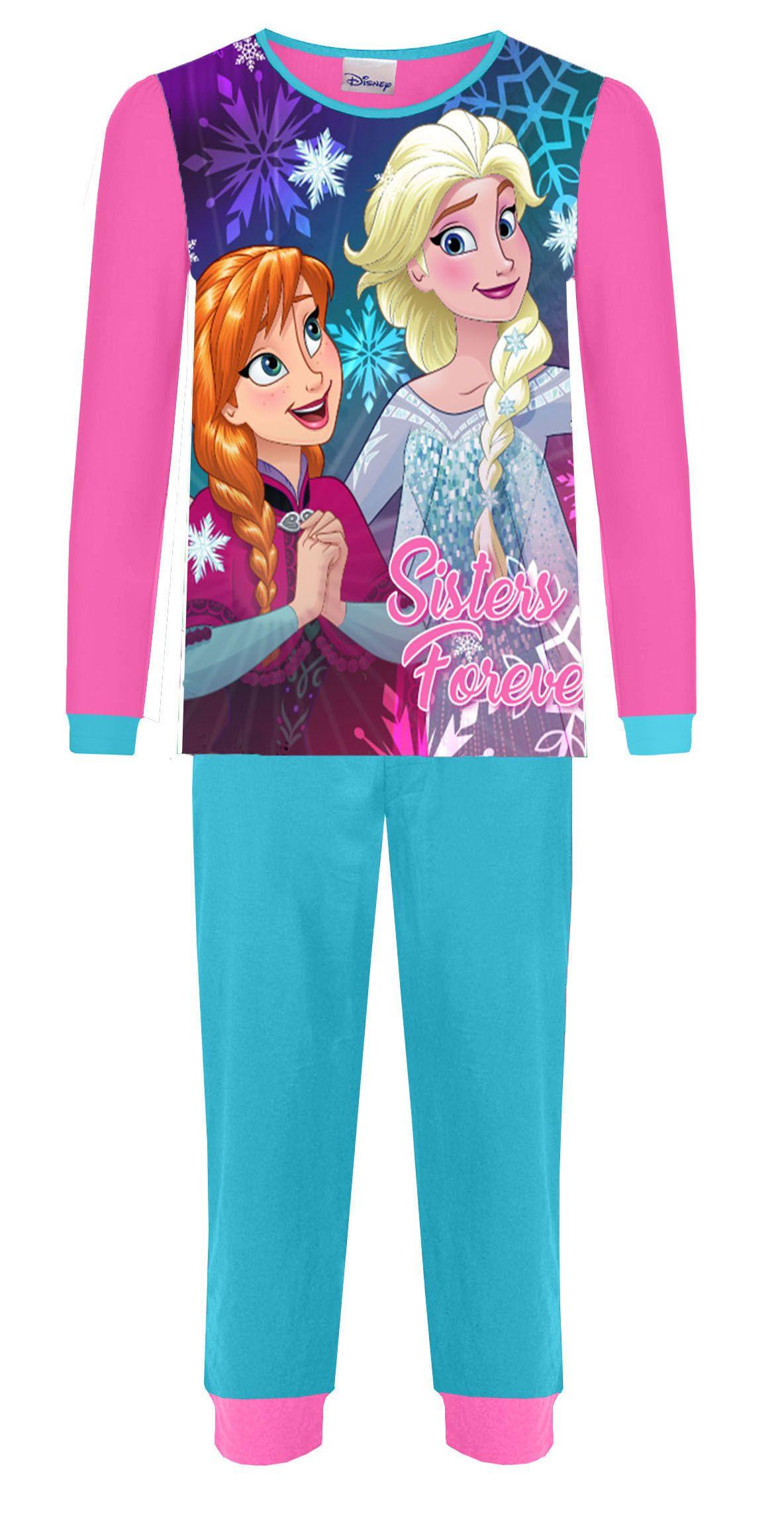 Official Disney Frozen Olaf Cotton Onesie Nightwear Pyjamas All In One Anna Elsa
