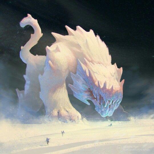 Gargantuan, Ice Golem, Siege Beast