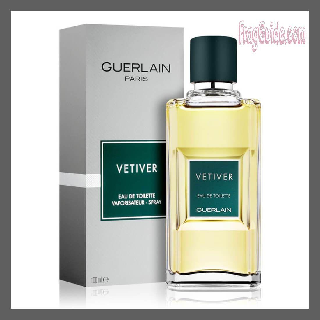 عطر فيتيفر Vetiver للرجال من عطور جيرلان Guerlain Vetiver Perfume Bottles Fragrance