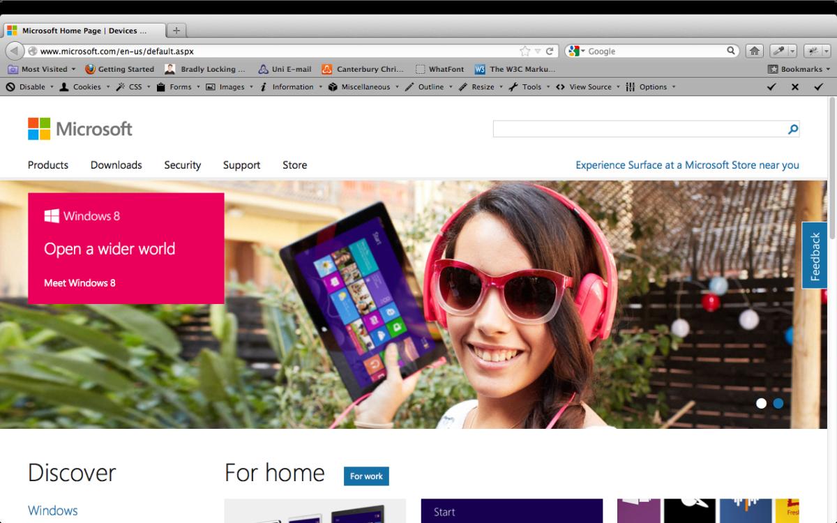 Trent Walton New Microsoft Website Paravel Inc Microsoft Web Design Company About Me Blog