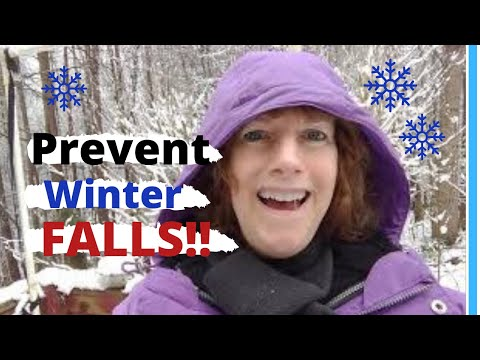 WINTER FALL PREVENTION TIPS FOR SENIORS Simple Things