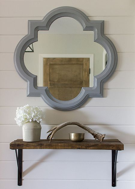 If you enjoy using a router for projects, or are looking for a project to practice your router skills, this ornamental mirror frame is ideal.