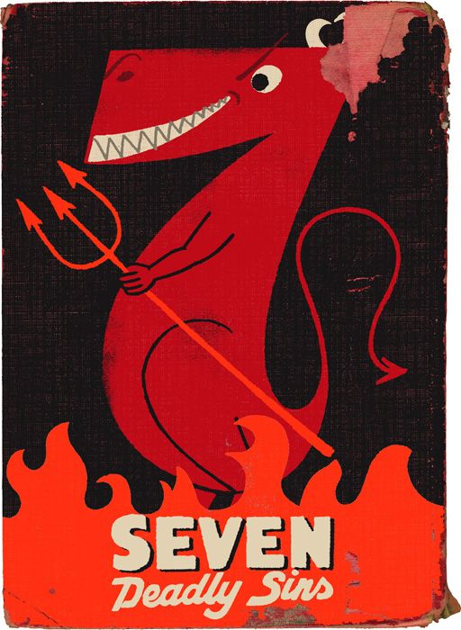 Seven Deadly Sins by Paul Thurlby