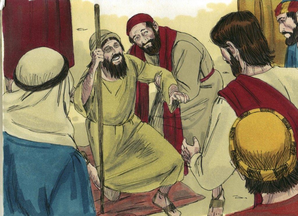 A Blind man Receives Sight   Bible Class Board   Pinterest