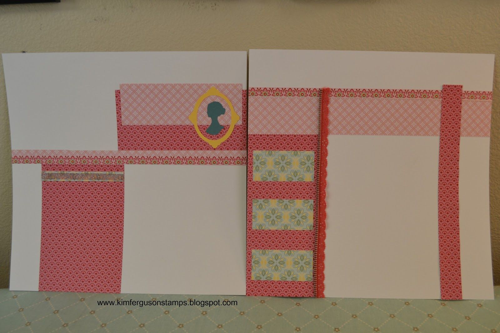Chantilly Paper Pack Mother's Day Layout