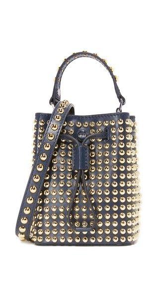 Kenzo Elite Bucket Bag Bags Shoulder Hand Leather