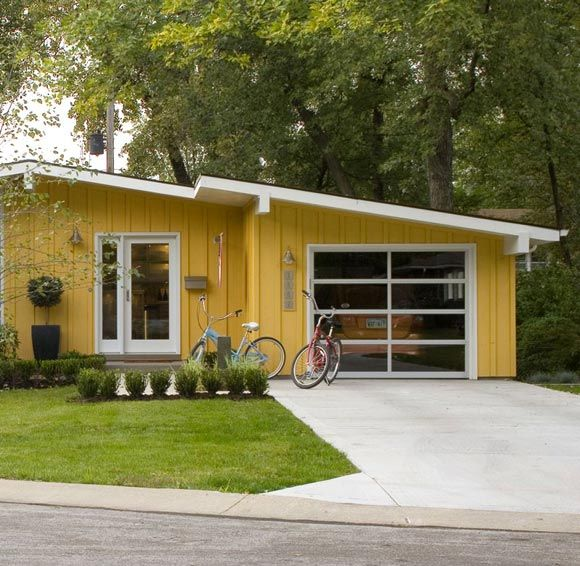 Modern Garage Doors In An Astonishing Protection: Bungalow. In Love! In 2019