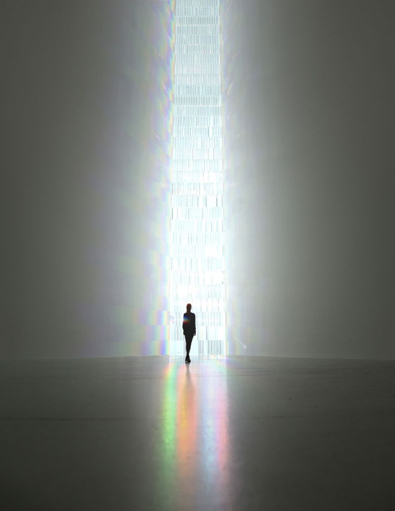 Tokujin Yoshioka, Rainbow church | Arte / Art | Pinterest