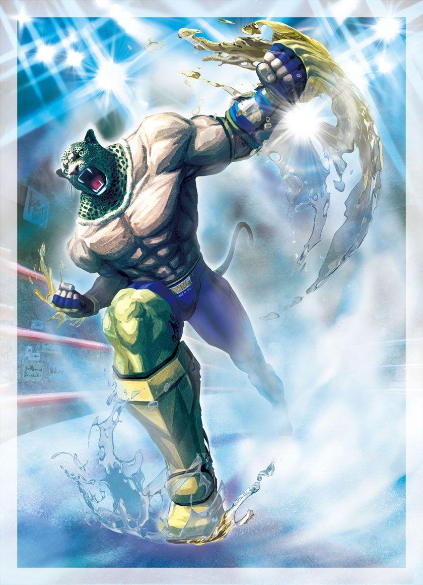 King Characters Art Street Fighter X Tekken Street Fighter