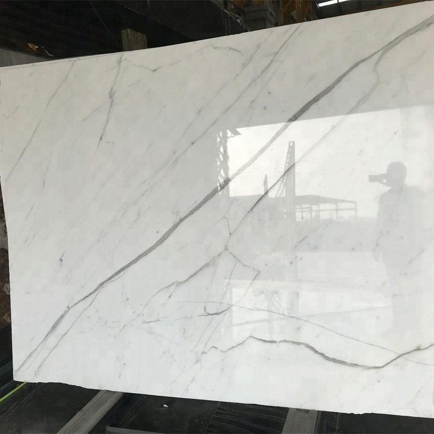 Calacatta White Marble Slab Find