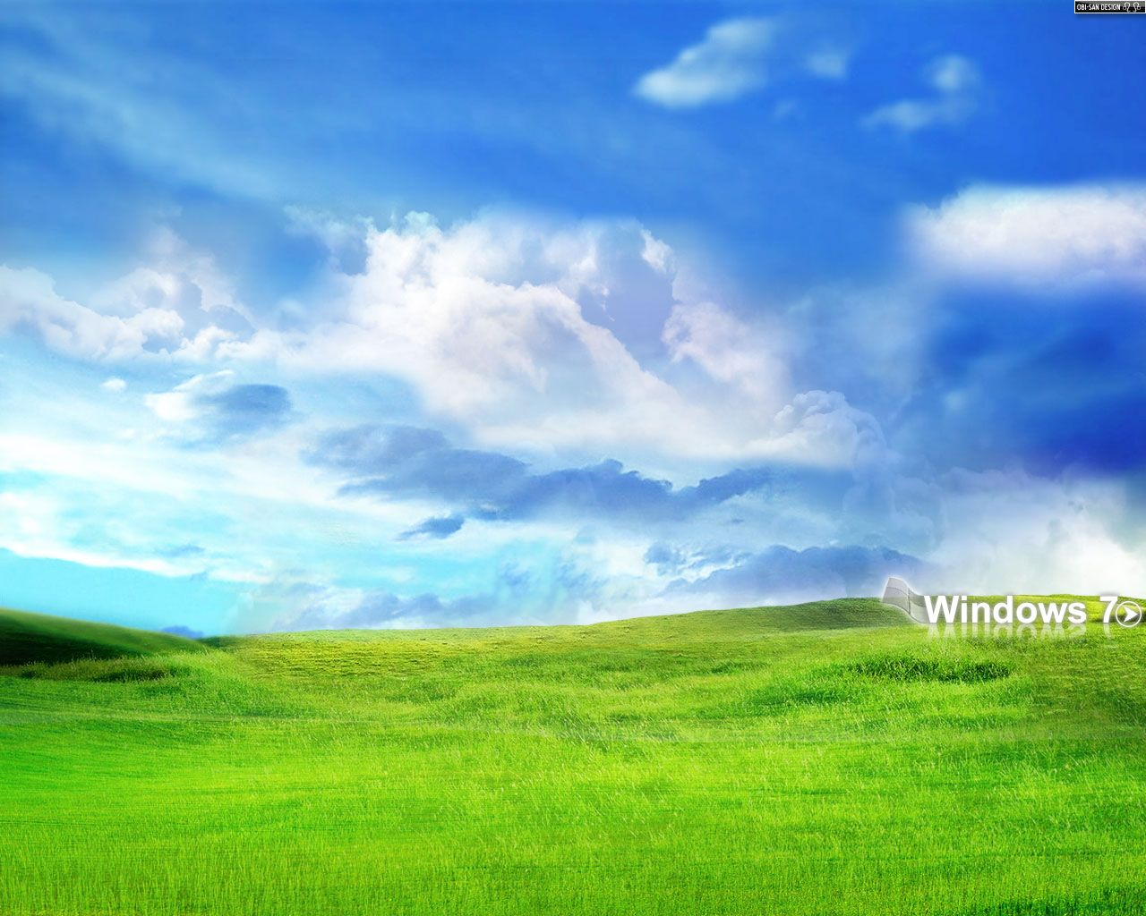sky and grass wallpaper windows 7 system professional | windows
