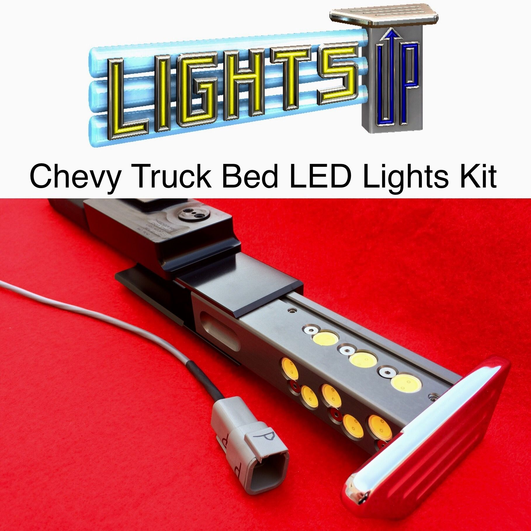 Automatic & KeyLess LED Truck Bed Lights Kit Available