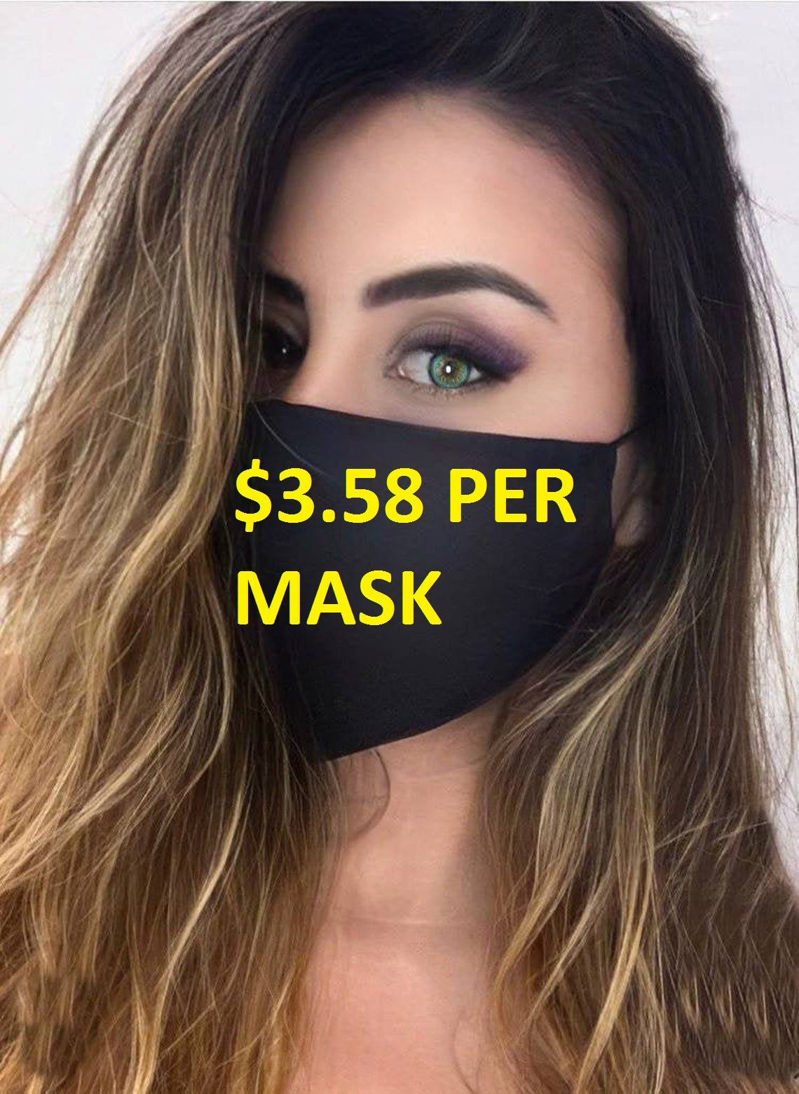 5 Adult Unisex 3 Ply Soft USA Made Mask with Filter Pocket