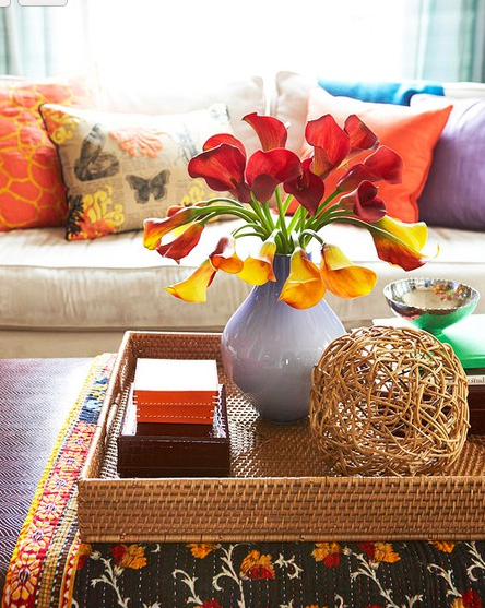 styling your coffee table to help sell your house | brisbane