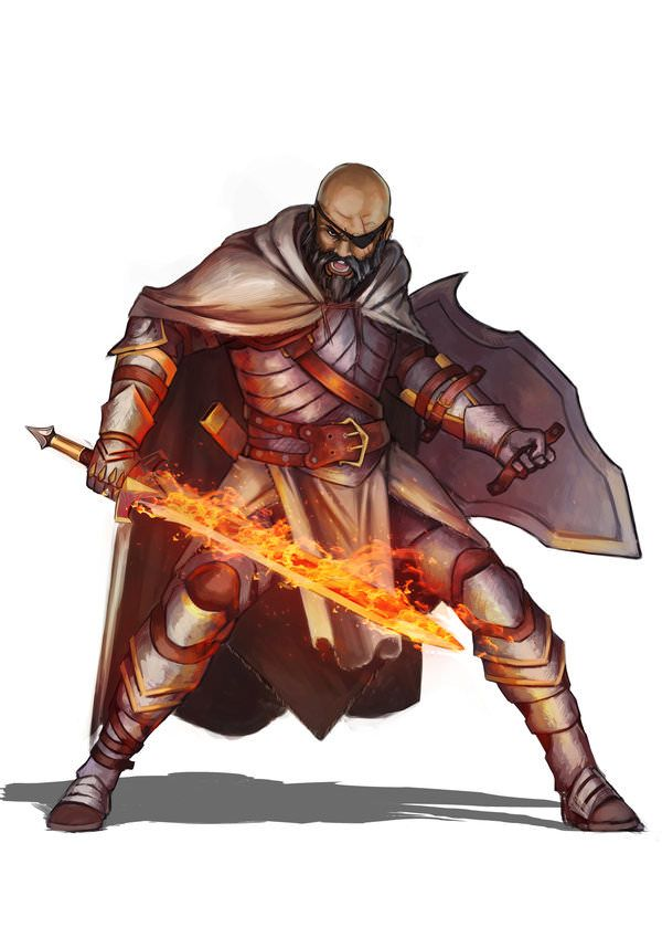 Dungeons & Dragons: Fighters, Paladins & Clerics II (inspirational) | Character design, Dungeons ...