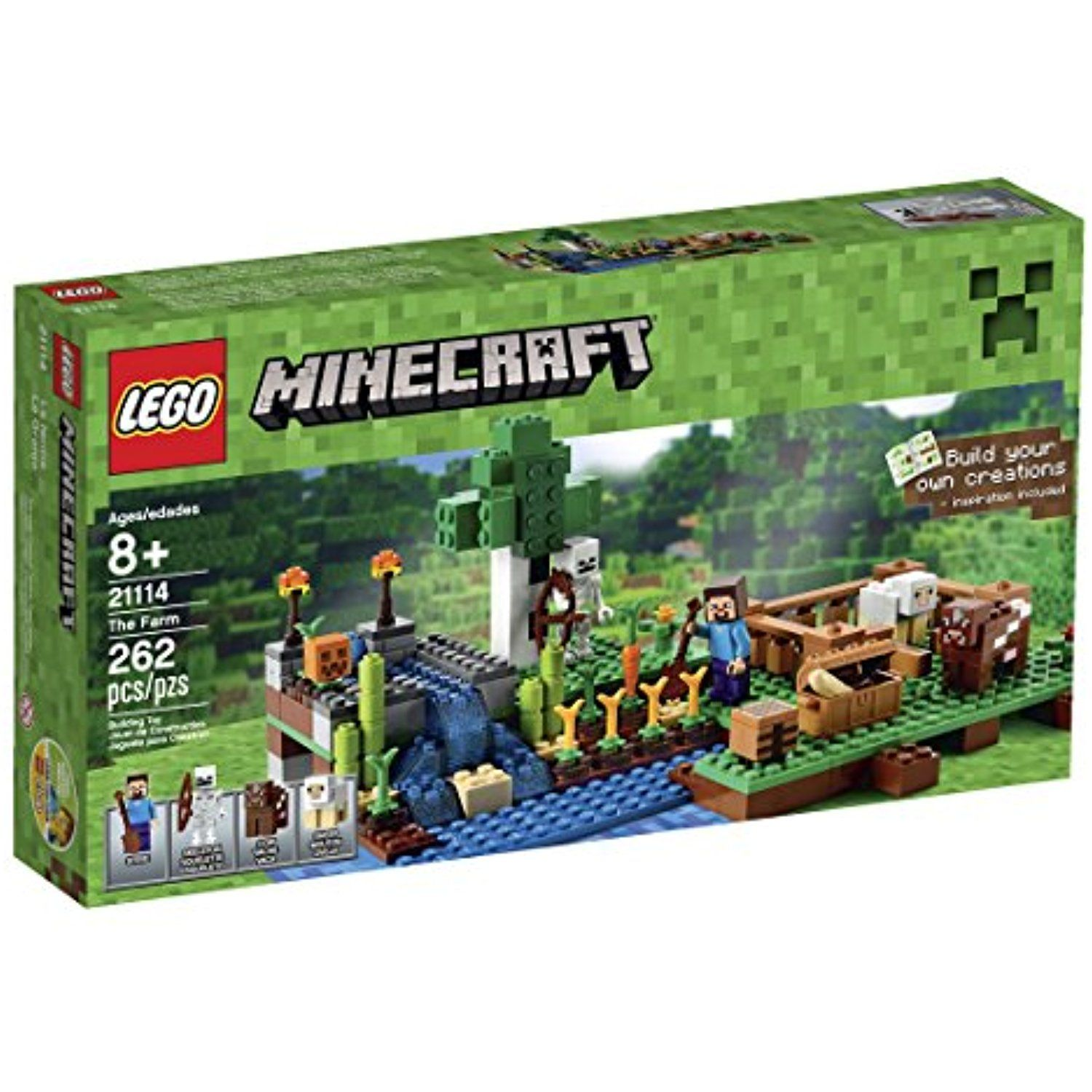 Lego car toys  LEGO Minecraft  The Farm  You can get additional details at