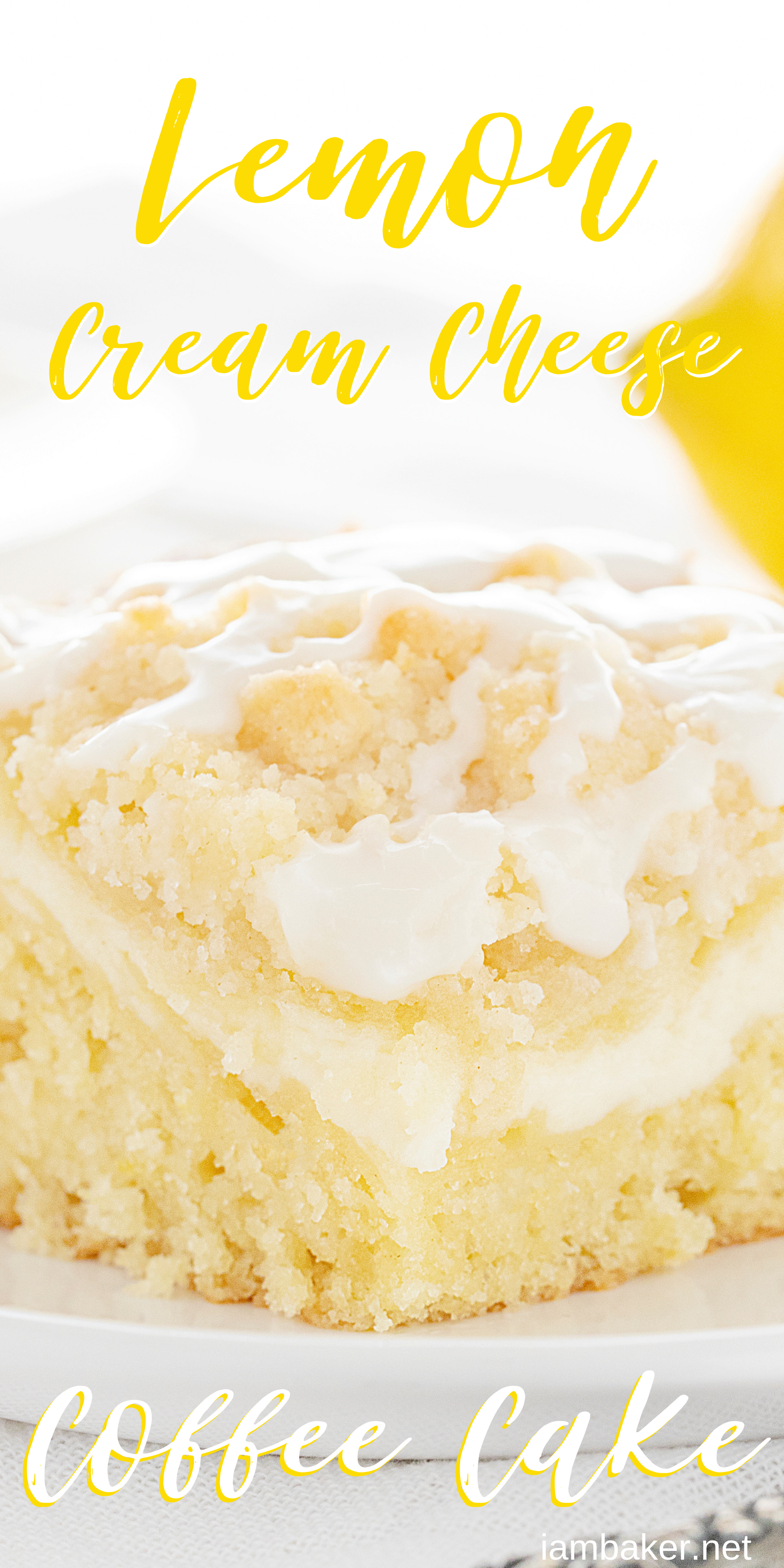 Cream Cheese Lemon Coffee Cake - -