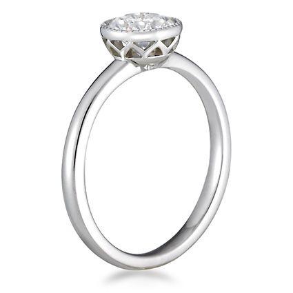 18K White Gold Sierra Ring