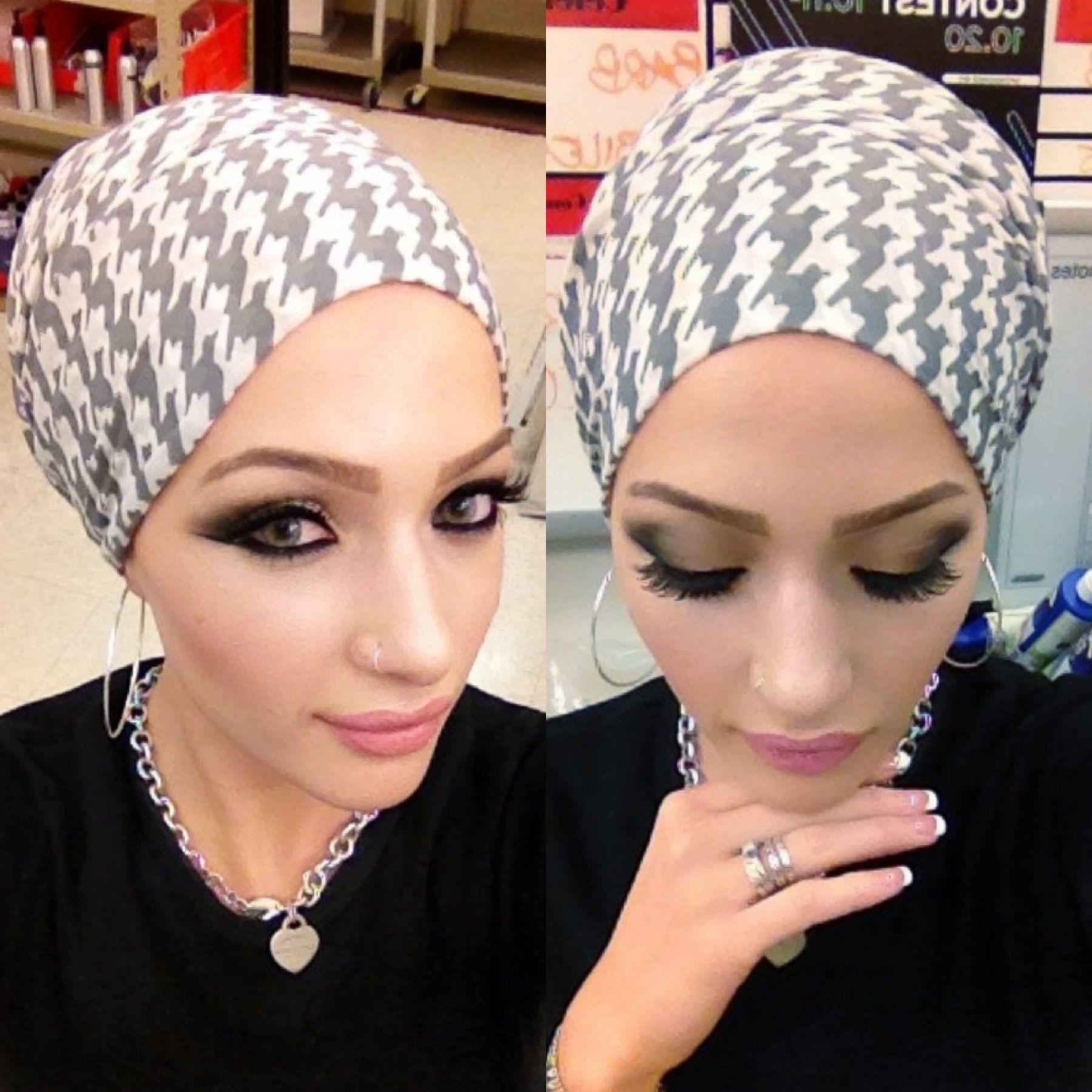 Lebanese inspired makeup