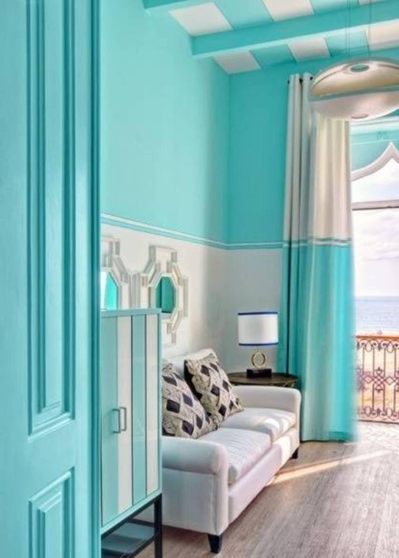 Room Design Paint Colours: Interior Paint Color Schemes For