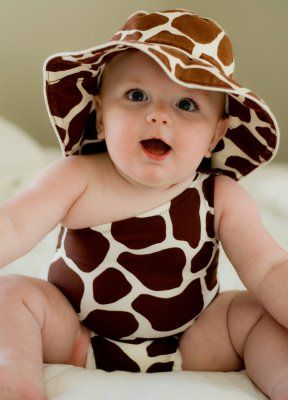 oh a baby girl giraffe...