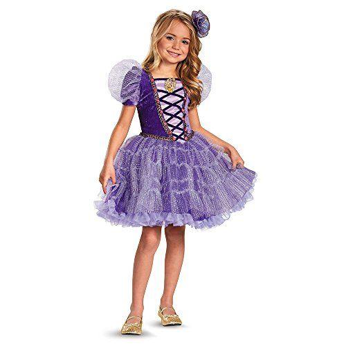 Disguise Disneys Tangled Rapunzel Tutu Prestige Girls Costume 3T4T *** Click image for more details.
