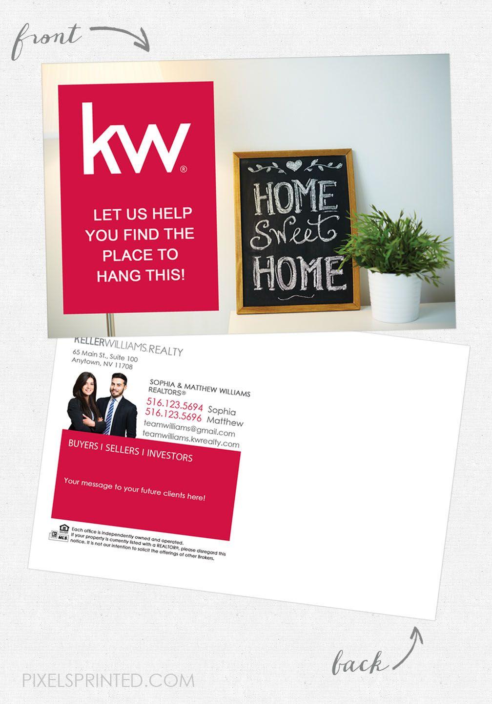 Keller williams postcards realtor postcards real estate
