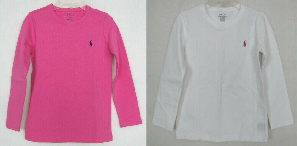 NEW Polo Ralph Lauren Girls Shirt Long Sleeves size 5
