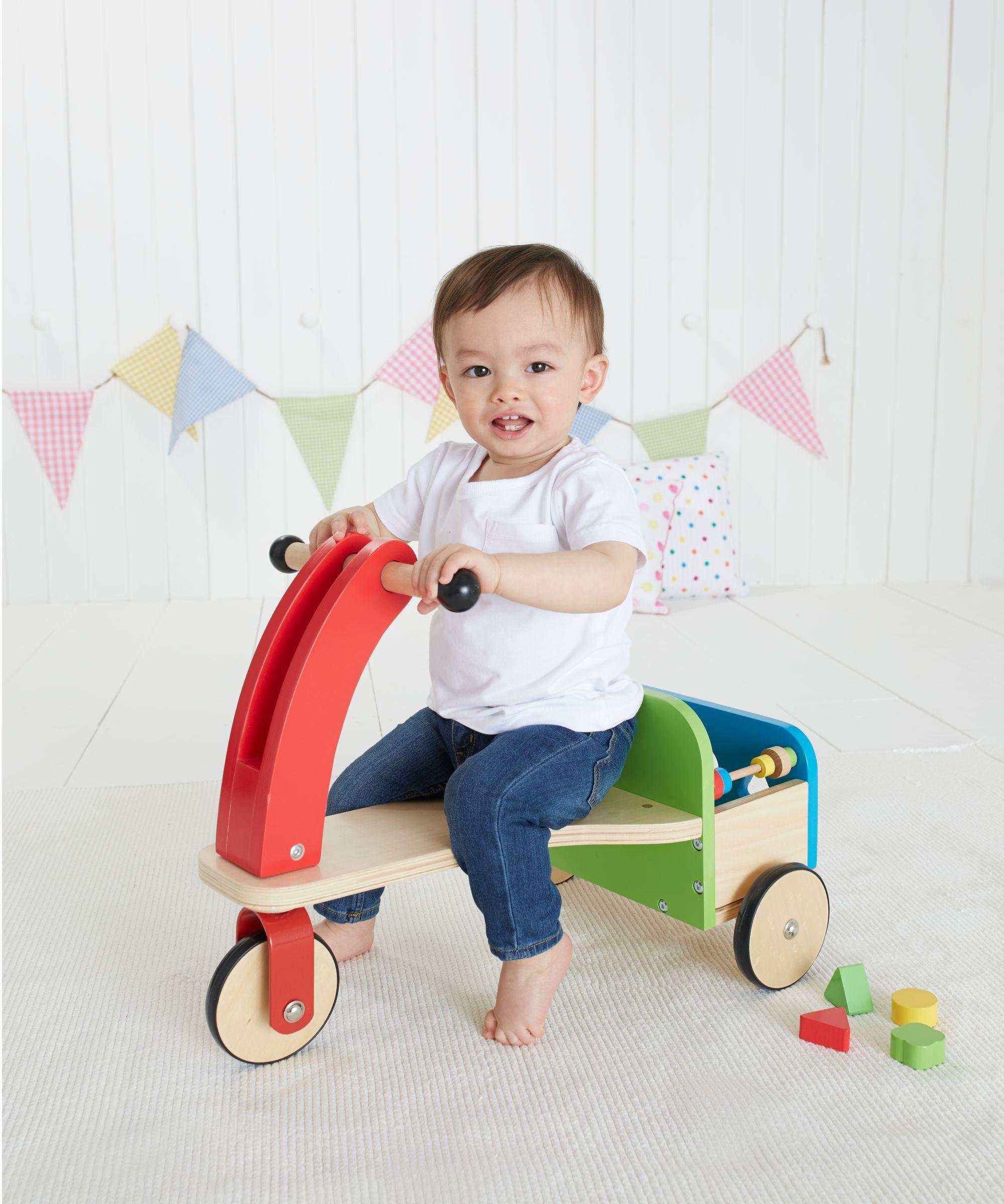 cbc2906ee85 Wooden Trike and Trailer Wooden Kitchen, Toy Kitchen, Kids Blocks, Baby  Ride On
