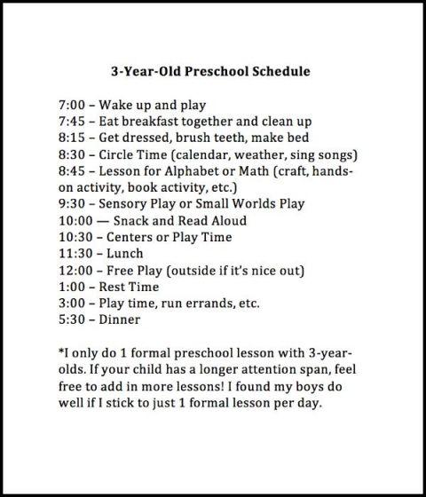 Weekly Preschool Planner | Homeschool, Activities and School