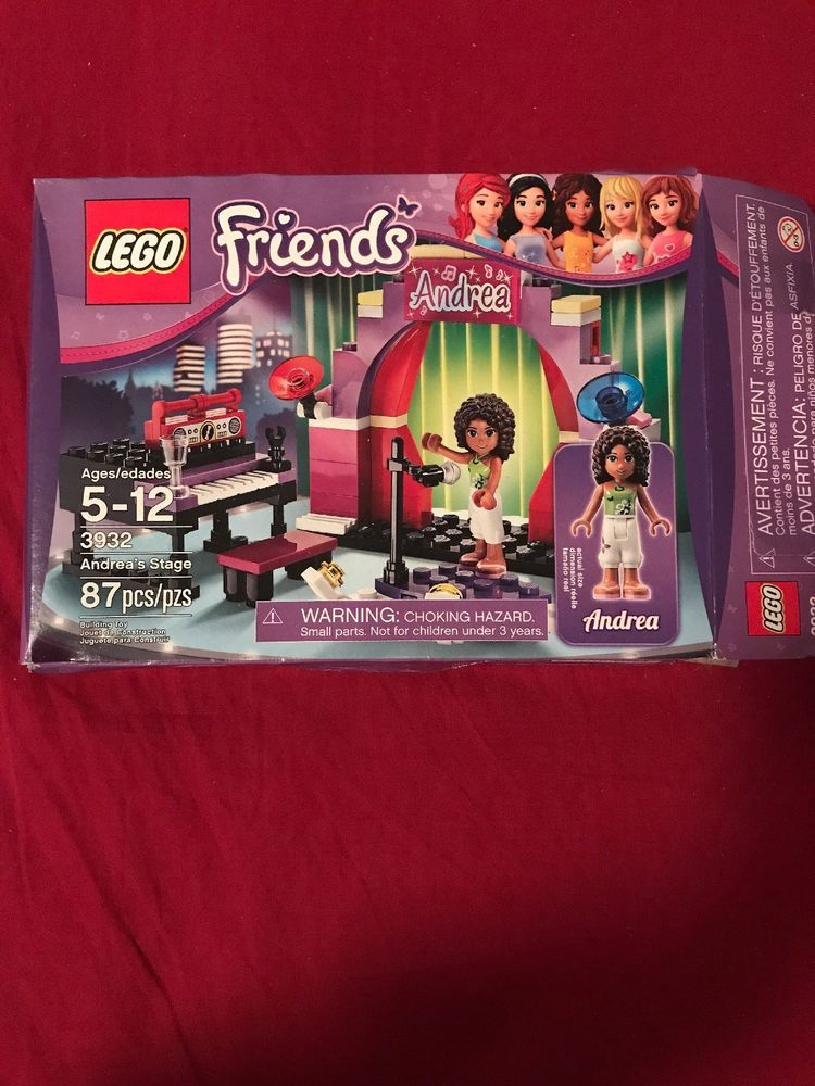 Lego Friends Andreas Stage Lego Love Pinterest Lego Friends