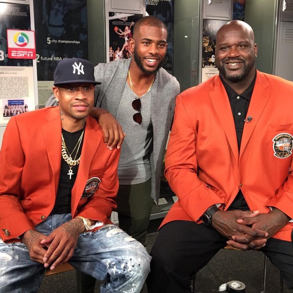 同樣是183,CP3和Iverson誰更出色?歐尼爾的評價很簡單明了!-Haters-黑特籃球NBA新聞影音圖片分享社區