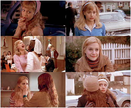 Fay Forrester, as played by Brittany Murphy. Riding in