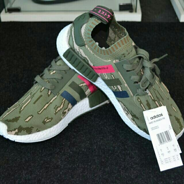 the latest 2d8f6 df325 I m selling Adidas NMD R1 PK Green Night for RM190.00. Get