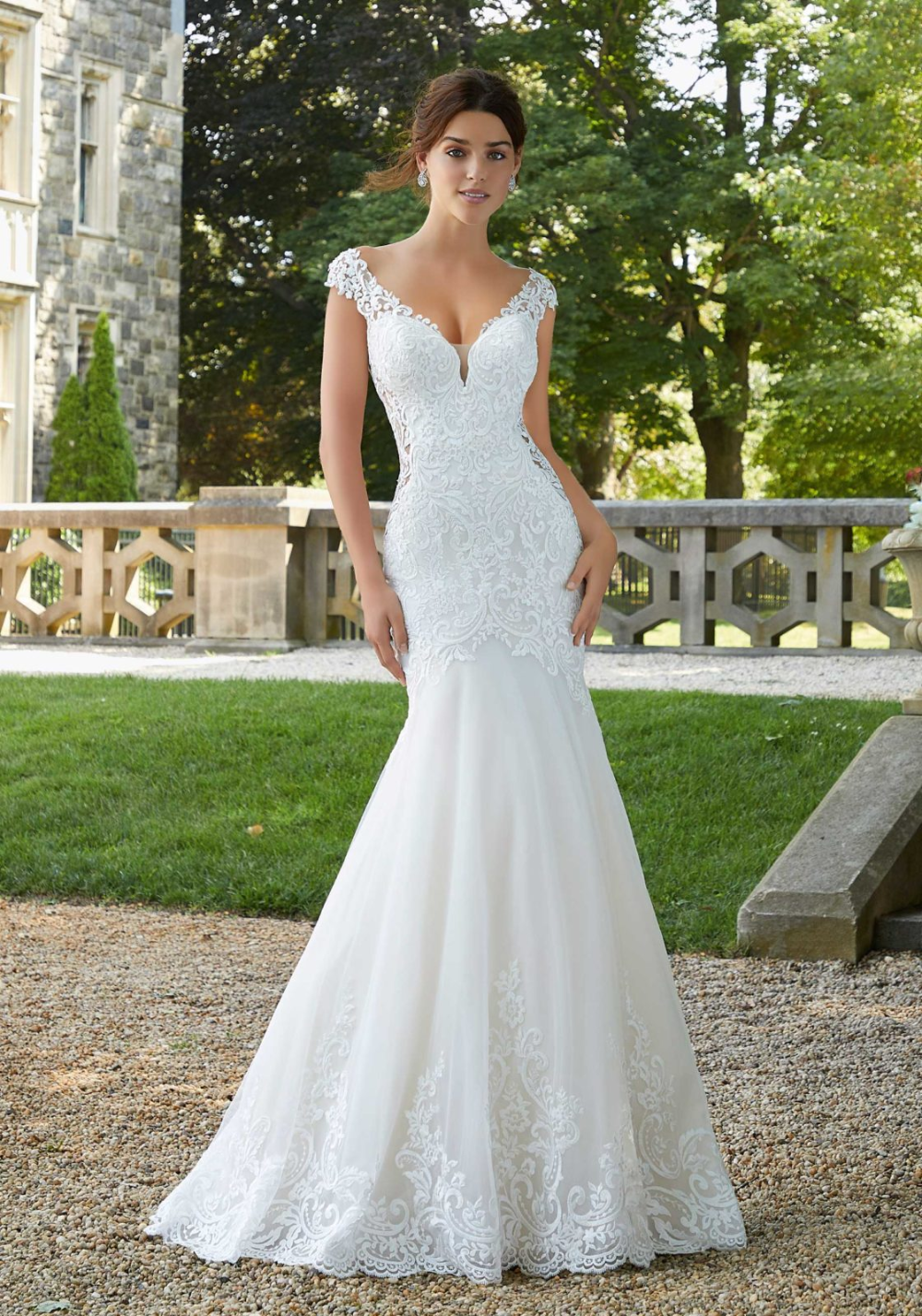 Shirley Wedding Dress Morilee Wedding Dresses Lace Mermaid Wedding Dress Wedding Dresses [ 1428 x 1000 Pixel ]