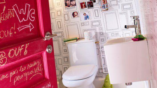 Zwart reservoir met burnished brons naamplaat toilet toiletten
