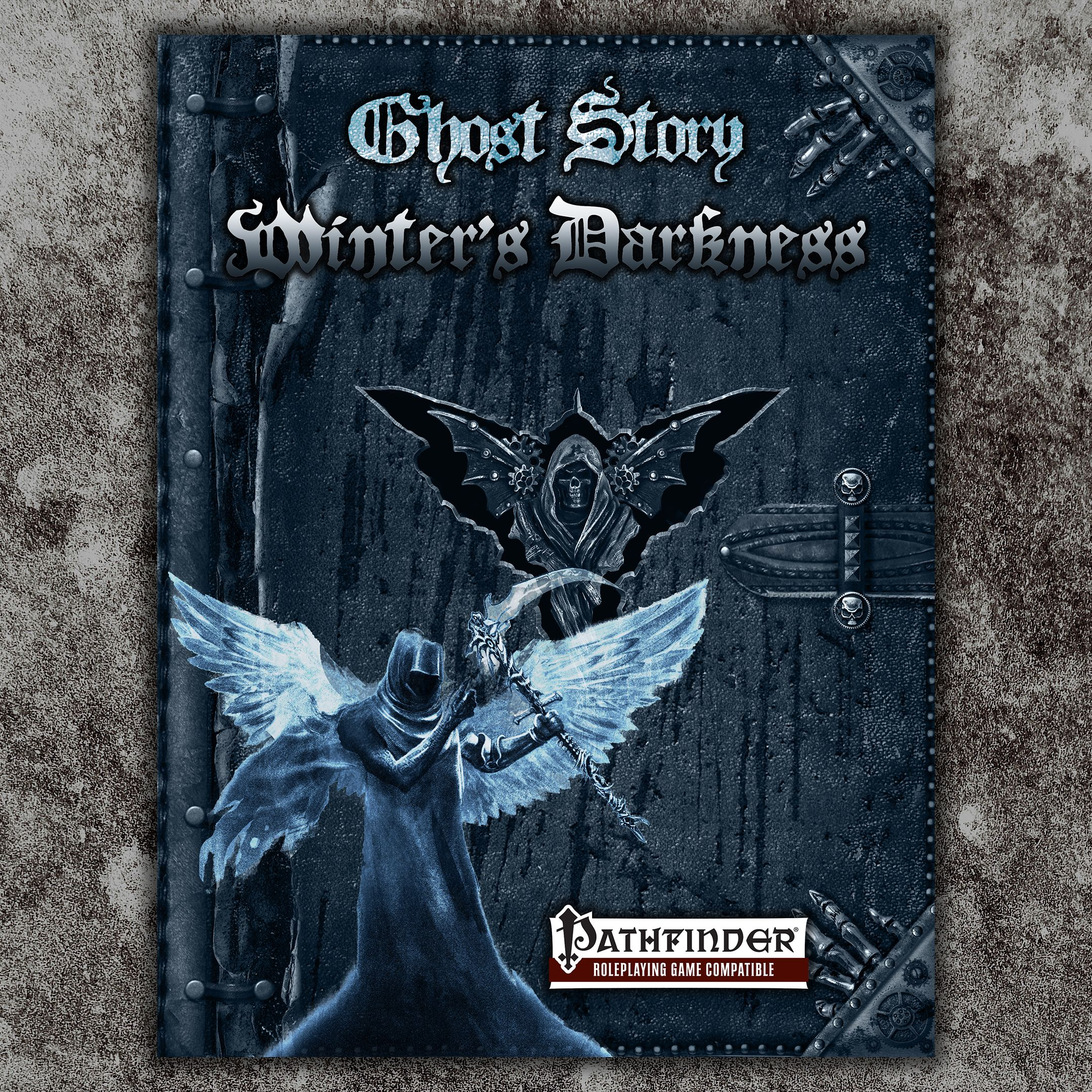 ADVENTURE 6 Cover to GHOST STORY WINTER'S DARKNESS A