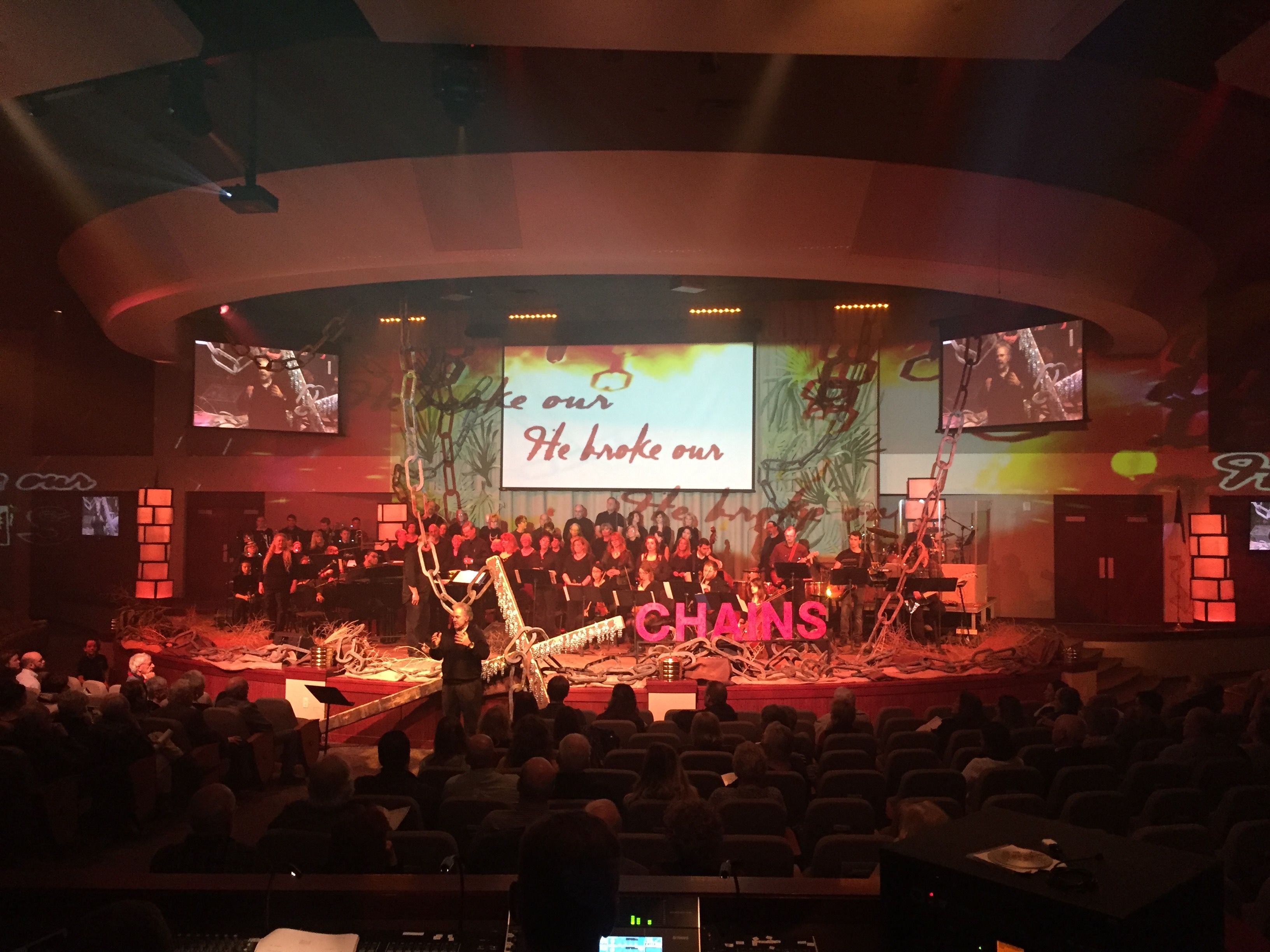 easter projected from greeley wesleyan church in greeley co brings us this easter stage design - Church Stage Design Ideas