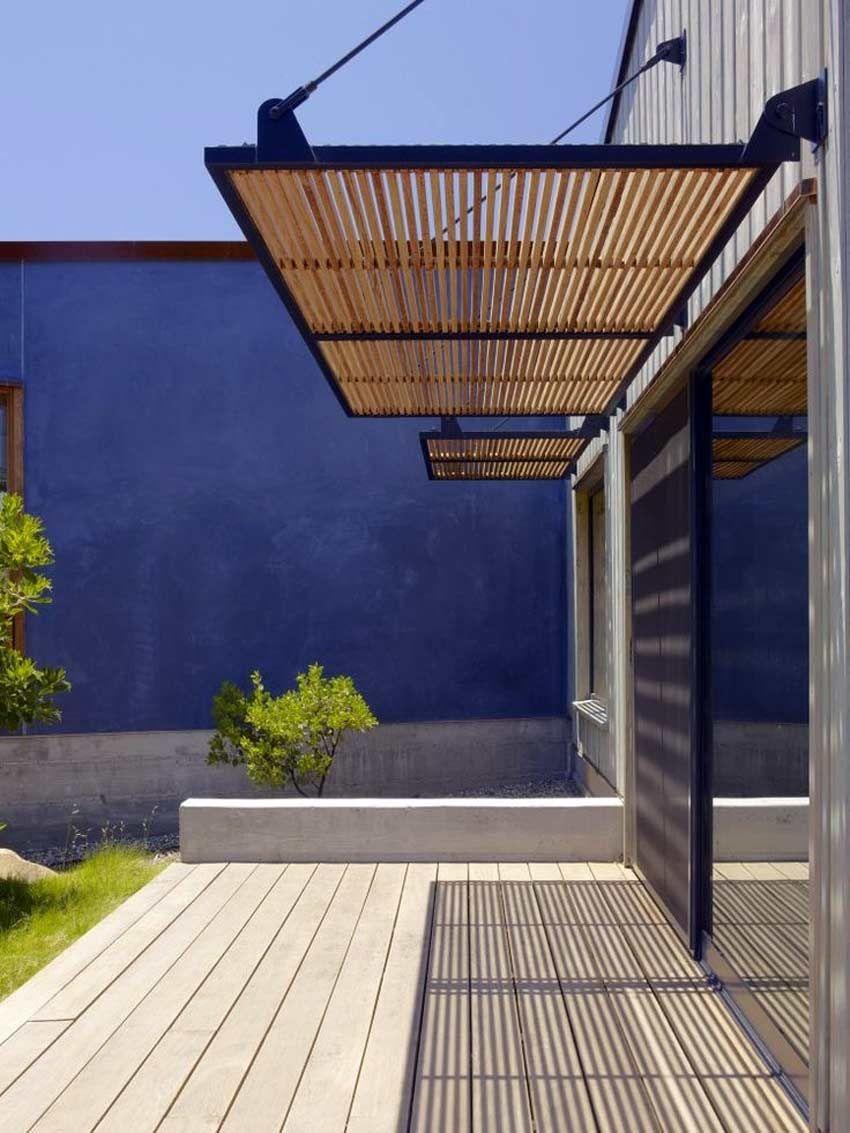 Wooden Porch Canopy Designs Cozy For Minimalist Exterior Myohomes 850 X 1133