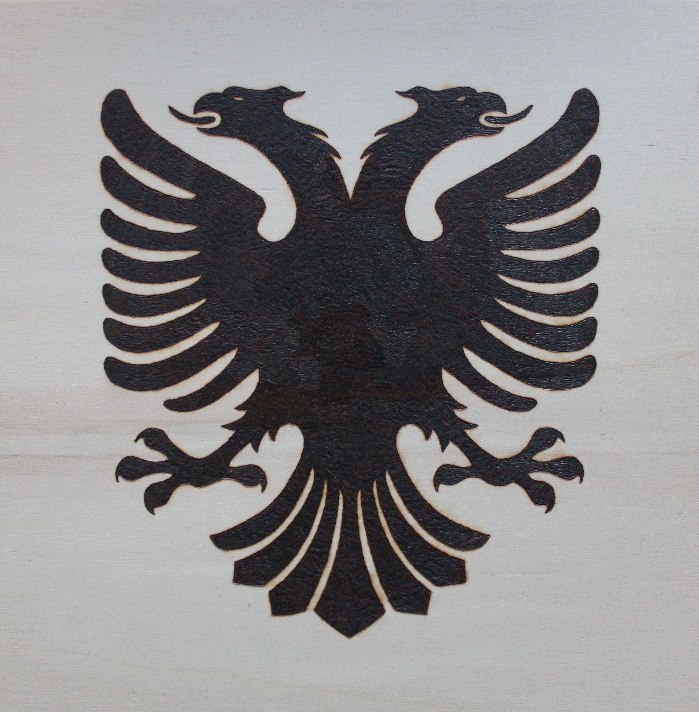 Albanian Double Headed Eagle Vinyl Decal Stickers Vinyl Decals Custom Vinyl Decal