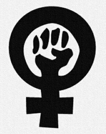 women occupy logo social